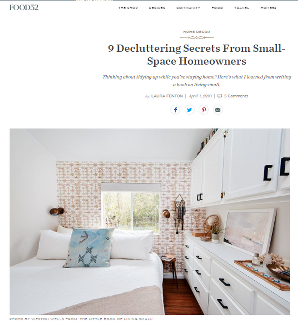 Small Space Decluttering Tips - Ideas for Tidying Your Home.png