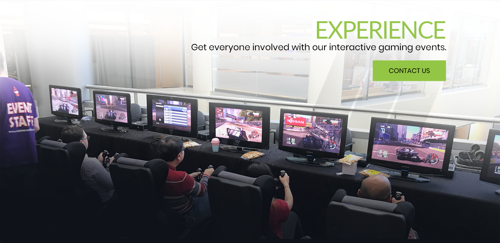 Get Everyone Involved with our Interactive Gaming Events - We Got Game