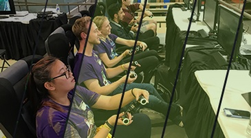 Group of People Playing Game at Esports Gaming Company In Mississauga