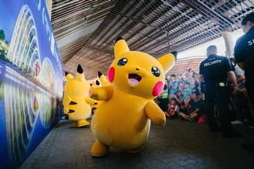 Pikachu - Event Photography Services Tacoma by OutSide Thinc