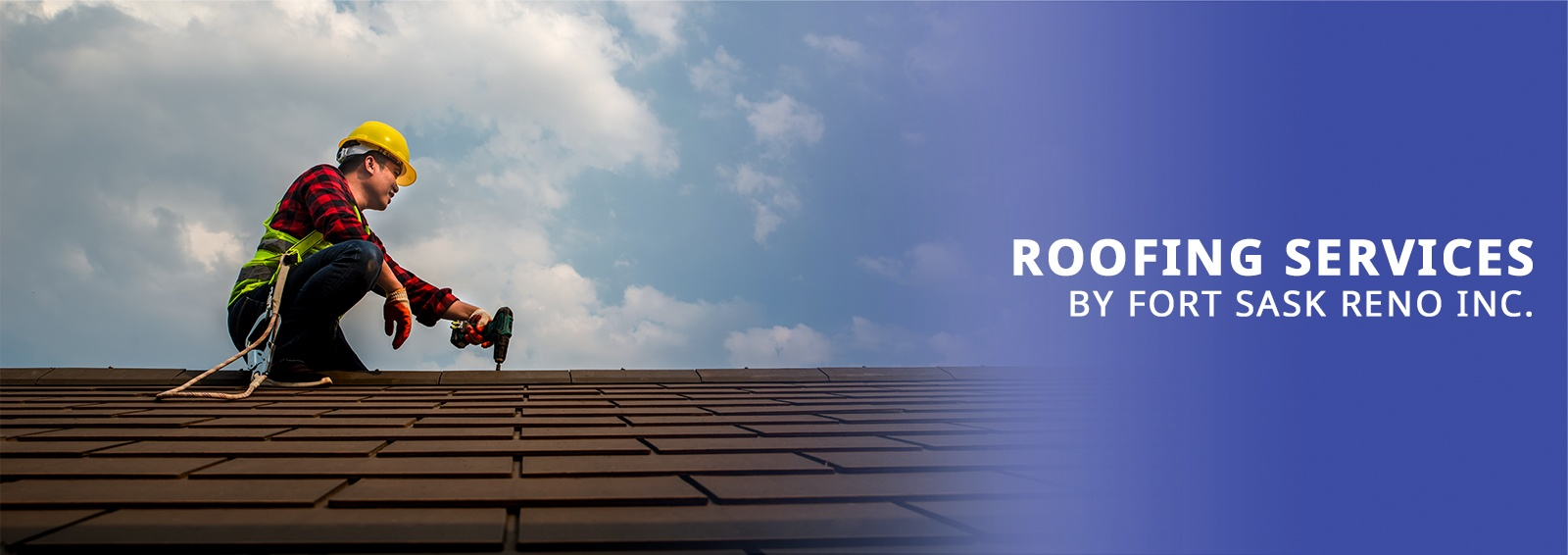 Fort Sask Reno - Roofing Services