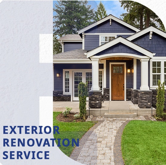 Exterior Renovation Services Fort Saskatchewan by Fort Sask Reno Inc.