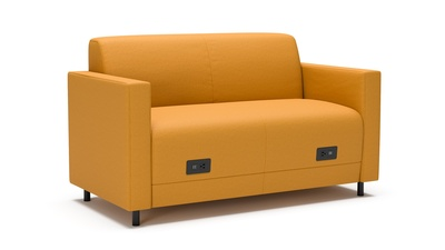 OFS Ani Loveseat with 2 Power Units
