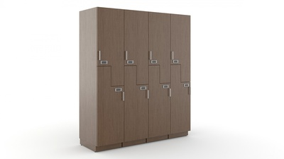 Carolina Mile Marker Storage Lockers with Z Doors