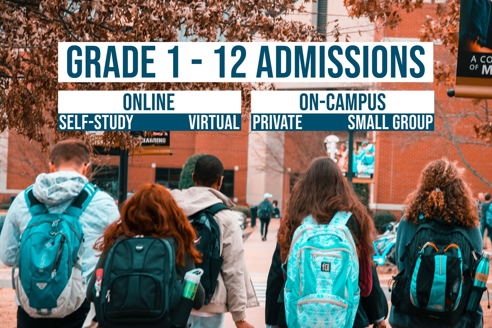 grade 1 to 12 admissions