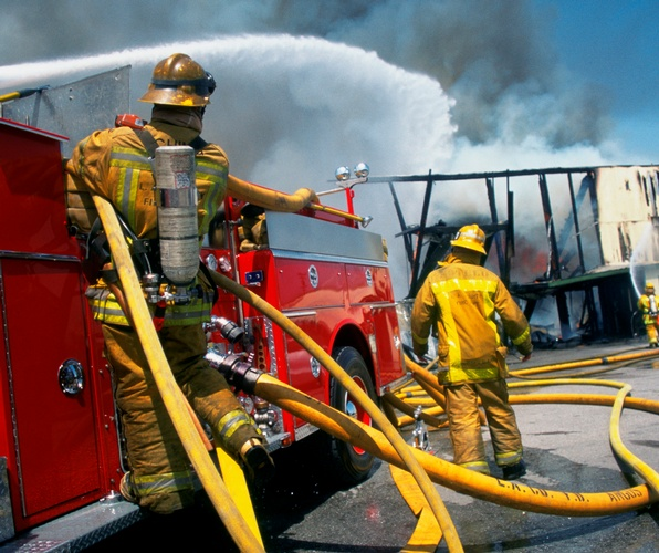 Firemen - Photography Services Irvine by Great Art Studios