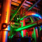 Industrial Piping Photograph by Great Art Studios - Photography Services Irvine