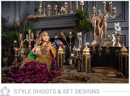 style shoots and set designs