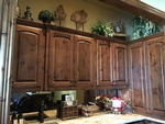 Wall mounted Wooden storage Cabinet with Accessories - Fort Worth Interior Decoration