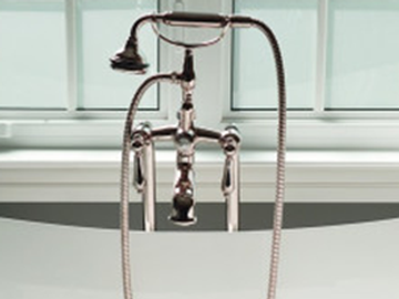 Freestanding Telephone tub Faucet by Valentine Interior Design - Interior Design Company Texas