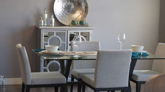 Dining Space by Valentine Interior Design - Feng Shui Interior Design Fort Worth