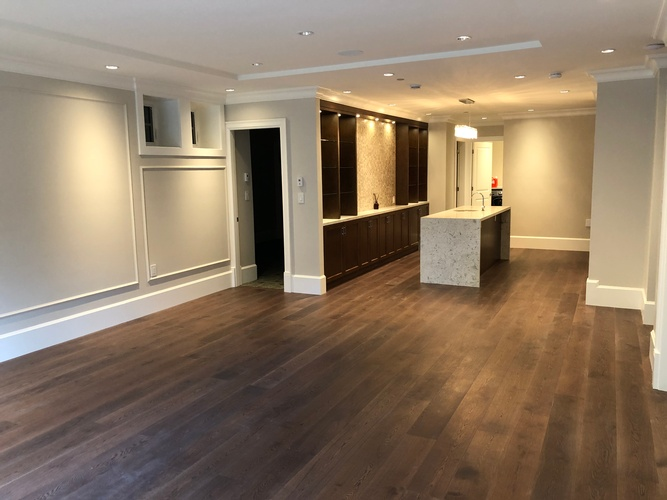 Kitchen Flooring Installation Surrey by TJL Floor And Garage Door Inc