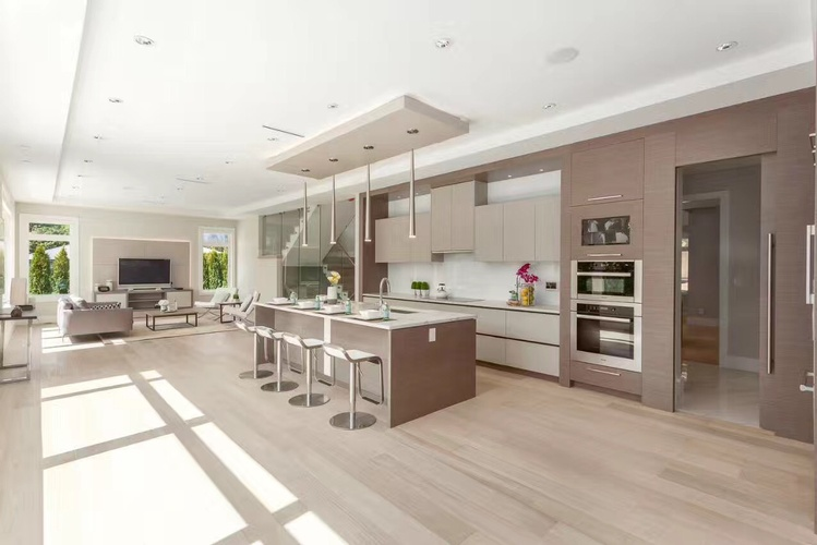 Kitchen Floor Renovation Services Surrey by TJL Floor And Garage Door Inc