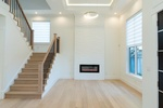 Laminated Wooden Stairs by TJL Floor And Garage Door Inc - Flooring Contractor in Richmond