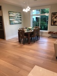 Modern Dining Room Flooring Installation Richmond by TJL Floor And Garage Door Inc
