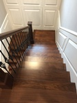 Wooden Staircase Installation Services Richmond by TJL Floor And Garage Door Inc