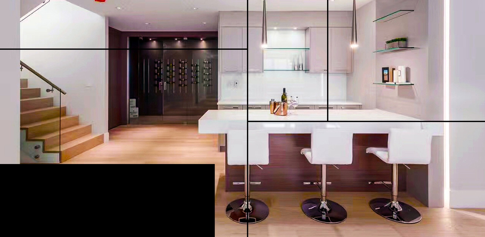 Engineered Hardwood Kitchen Flooring Services Vancouver by TJL Floor And Garage Door Inc