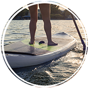 Stand Up Paddle Board Fitness Maryland by Home Core Fitness
