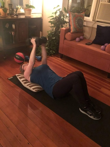In-Home Personal Training Maryland by Home Core Fitness