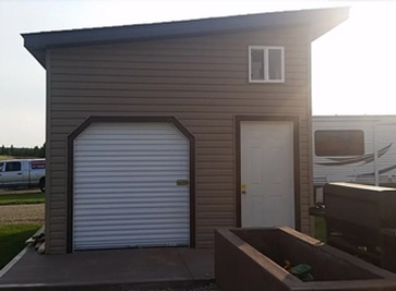 Custom Portable Shed, Garage Manufacturer Sturgeon County ...