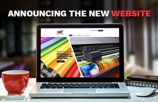Announcing The New Website - Printing And Finishing Inc.
