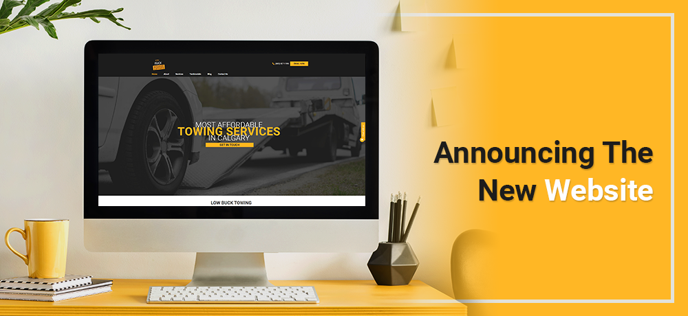 Announcing the New Website - Low Buck Towing