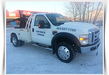 Towing Services and Roadside Assistance in Calgary by Low Buck Towing