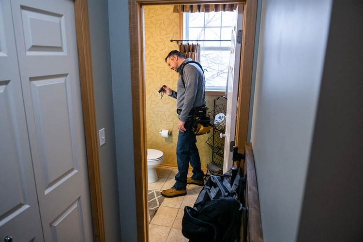 Interior Home Inspection Albertville