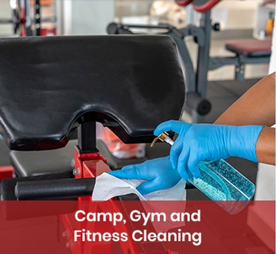 Camp, Gym and Fitness Cleaning Services
