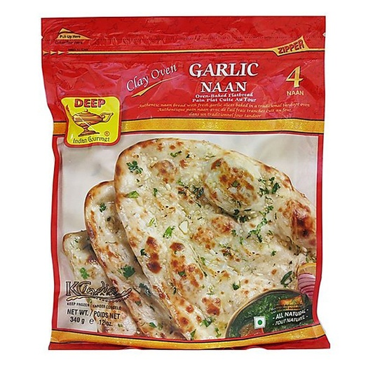 Deep Garlic Naan