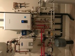 Poplar Pt, Radiant Heating System in Mech Room