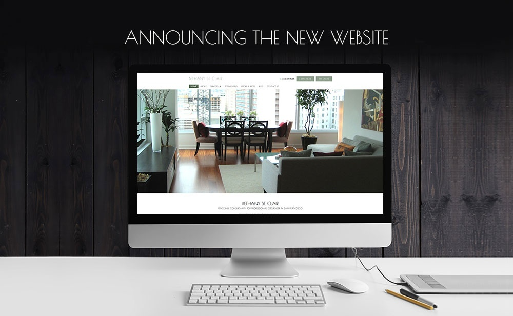 Announcing the New Website - Bethany St. Clair