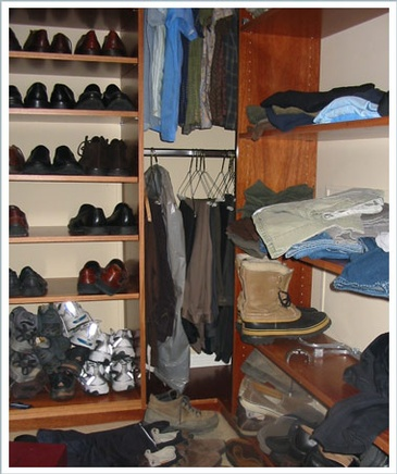 Well Organized Wardrobe by Bethany St. Clair - Professional Organizing San Francisco