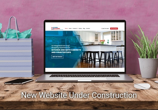 New Website Under Construction by AABA Kitchen Cabinets and Countertops