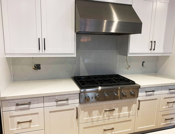 Kitchen Countertop Installation by AABA Kitchen Cabinets and Countertops in Scarborough