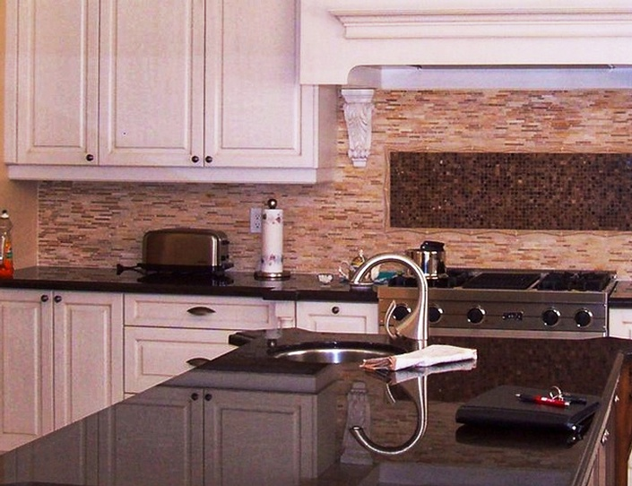 Brown Color Countertops by AABA Kitchen Cabinets and Countertops - Custom Kitchen Cabinets Scarborough