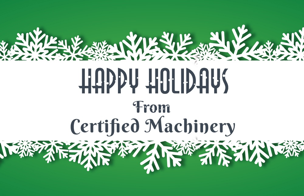 Blog by Certified Machinery Inc.
