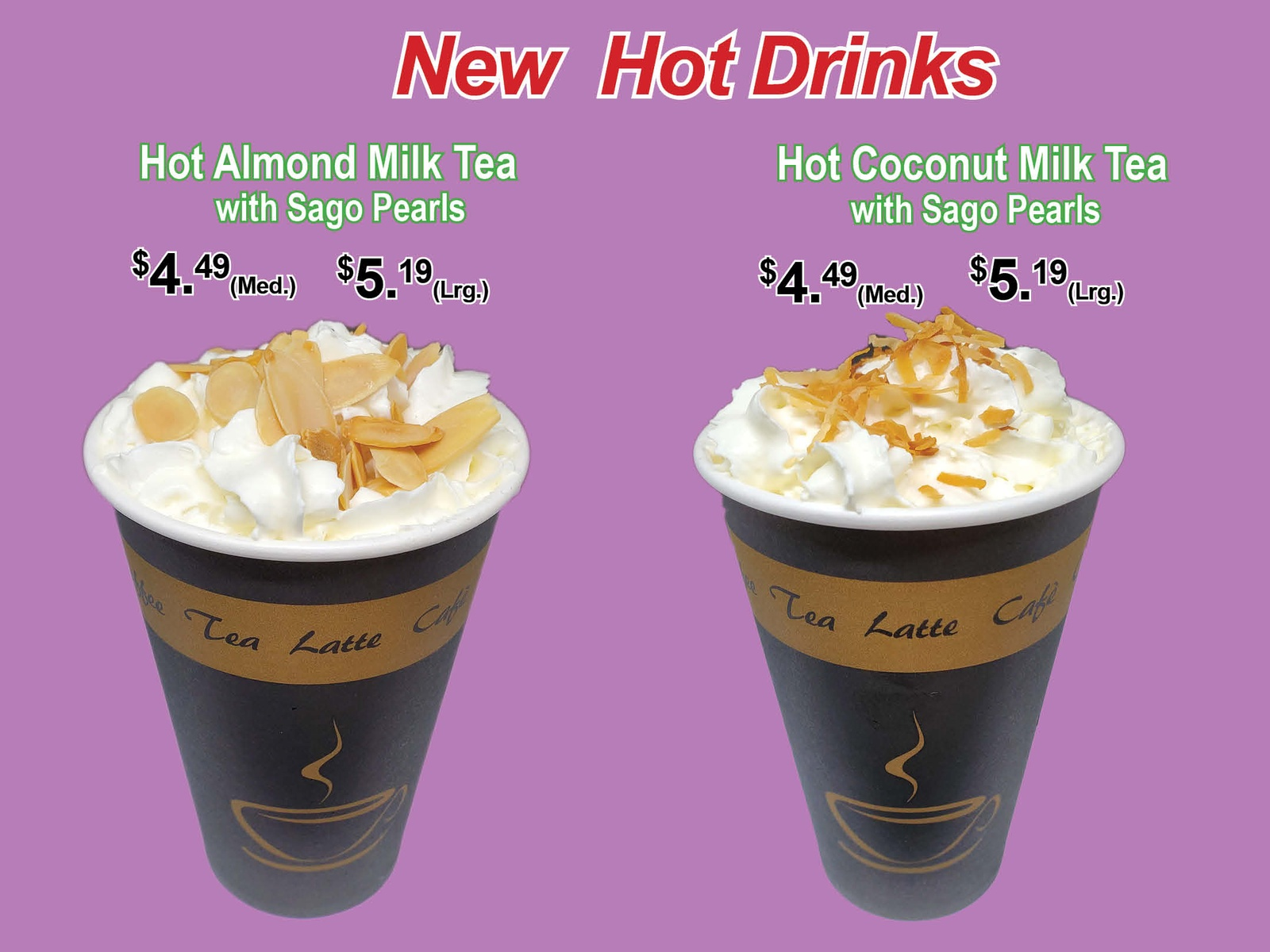 New Hot Drinks