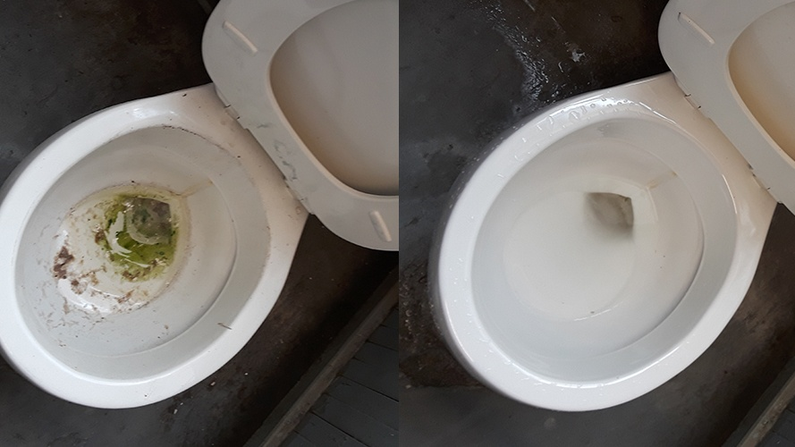 Toilet Cleaning by Affordable Cleaning Solutions, Inc. - Canton Commercial Cleaning Services