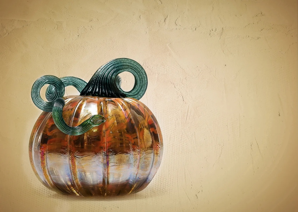 Decorative Glass Pumpkin - New Jersey Promotional Photography by Phillip Angelo