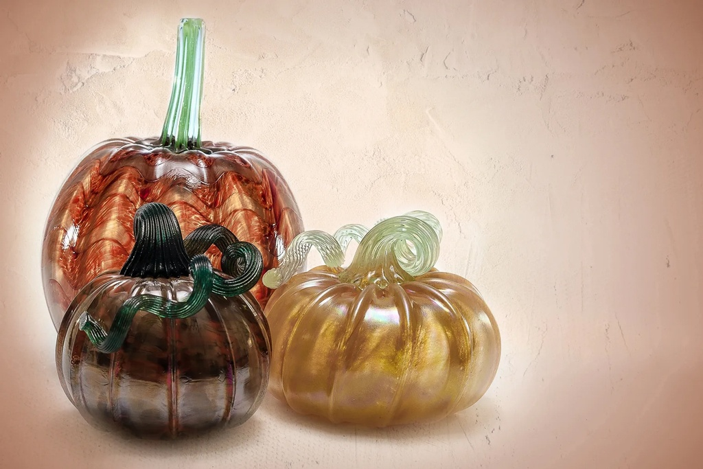 Decorative Glass Pumpkin - Promotional Photography Services New Jersey by Phillip Angelo