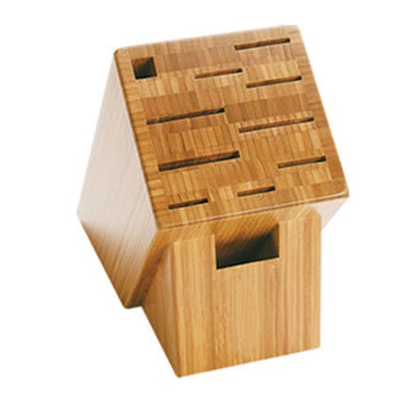 Shun Bamboo Knife Block 11 Slot at Internet Kitchen Store Toronto