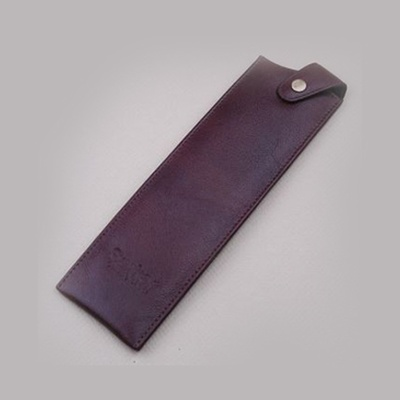 Leather Knife Protector Brown 8inch Extra Wide