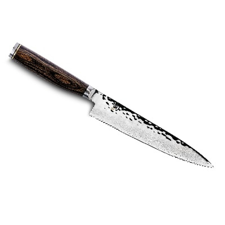 Shun Premier Serrated Utility Knife - Japanese Knives at Internet Kitchen Store Toronto
