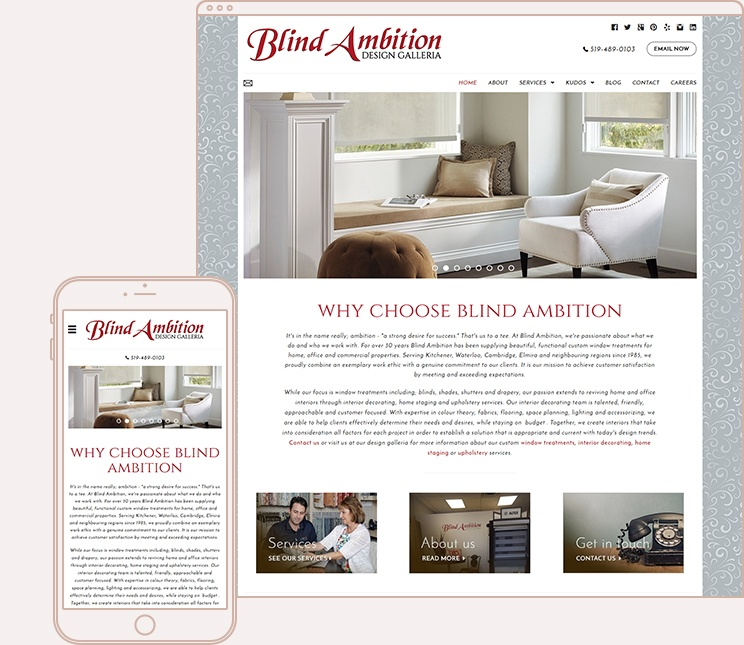 Window Treatments Website Templates Webware Io