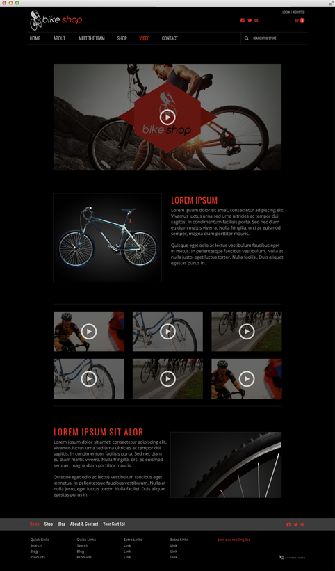 Content Page Template Example 3