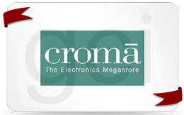 croma with ribbon