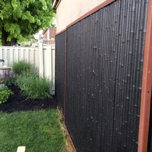 New Trend Fencing Products Gallery Bamboo Distinction