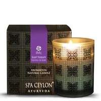Spa ceylone - Sleep Therapy Aromaveda Natural Candle