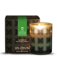 Spa ceylone - Lemongrass Mandarin Home Aroma Blend Natural Candle